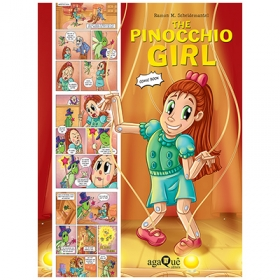The Pinocchio Girl (Comic Book Topsy Turvy Tales)